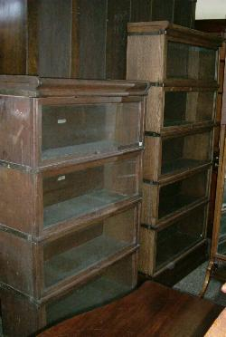 Antique Mahogany Waterfall Open Bookcase Bookshelves To Adopt Advanced Technology Edwardian (1901-1910)