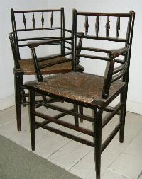 The Arts Crafts Home - William morris chairs