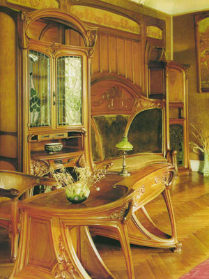 The Art Nouveau Home